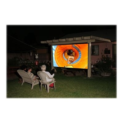 Elite Screens DIY96RH1 DIY Pro Series DIY96RH1 - Projection screen - 96 in ( 94.9 in ) - 16:9 - DynaWhite - black