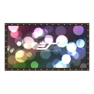 Elite Screens DIY195RV1 DIY Pro Series DIY195RV1 - Projection screen - 195 in ( 194.9 in ) - 4:3 - DynaWhite - black