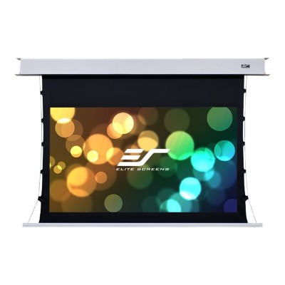 Elite Screens ETB100HW2-E12 Evanesce Tab-Tension B Series ETB100HW2-E12 - Projection screen - ceiling mountable - motorized - 100 in (100 in) - 16:9 - CineWhite