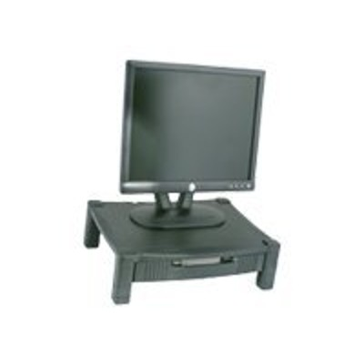 Kantek MS420 MS420 - Monitor stand with drawers - black