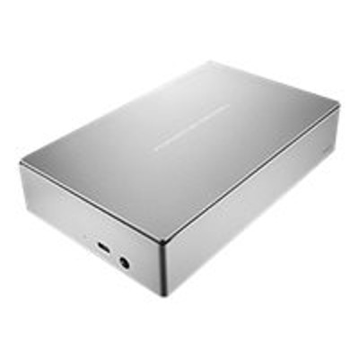 Seagate STFE4000100 LaCie Porsche Design Desktop Drive STFE4000100 - Hard drive - 4 TB - external (desktop) - USB 3.0 - silver