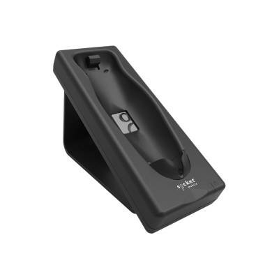 Socket Mobile AC4102-1695 Socket Charging Cradle - Bar code scanner charging stand - black - for Bluetooth Cordless Hand Scanner 7Qi 7Xi DuraScan D750