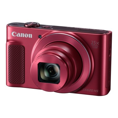 Canon 1073C001 PowerShot SX620 HS - Digital camera - compact - 20.2 MP - 1080p \/ 30 fps - 25 x optical zoom - Wi-Fi NFC - red