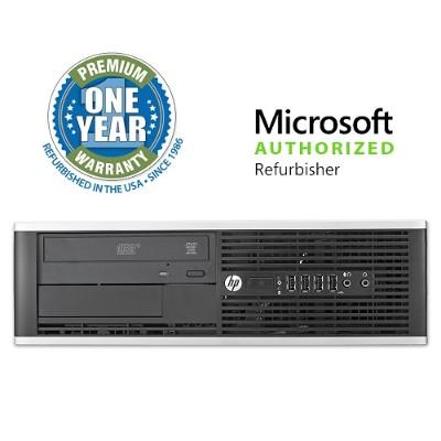 HP Inc. MOLHPEL820031CI58G2T Elite 8200 Intel Core i5-2400 3.10GHz Small Form Factor Desktop - 8GB RAM  2TB HDD  DVD-ROM  Gigabit Ethernet - Refurbished
