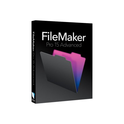 FileMaker HJVF2ZM/A Pro Advanced - (v. 15) - box pack (upgrade) - 1 user - upgrade from  Pro 12 13 14 15 /  Pro Advanced 12 13 14 - GOV  corporate - Win  Mac -