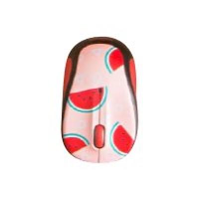 Logitech 910-004679 M325c - Mouse - optical - 5 buttons - wireless - 2.4 GHz - USB wireless receiver - watermelon