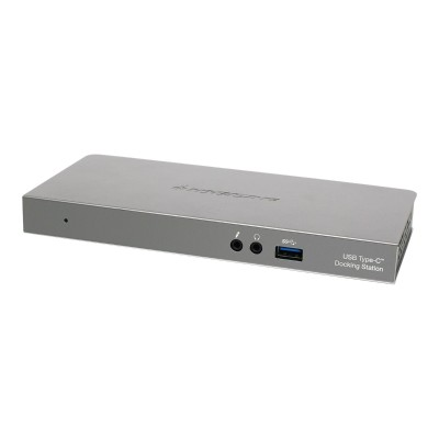 Iogear GUD3C01 USB-C 4K Docking Station with Power Delivery - Docking station - (USB-C) - 90 Watt