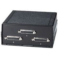 Black Box SWL025A-FFF ABC (2 to 1) DB25 Switches - Chassis Style A - 25 LEAD SERIAL OR PARALLEL