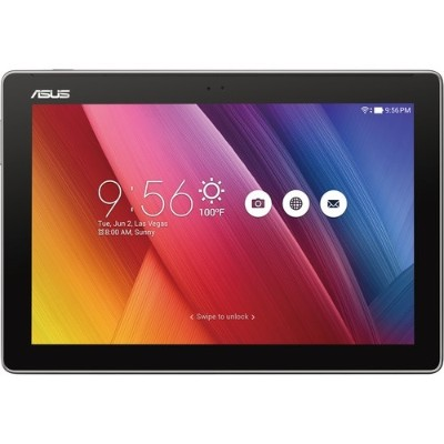ASUS Z300M-A2-GR ZenPad 10  Z300M-A2 MediaTek MT8163 Quad-Core 1.30GHz Tablet - 2GB RAM  16GB Flash  10.1 LED IPS Touch  802.11 a/b/g/n  Bluetooth  Front and Re