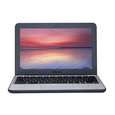 ASUS 90NX00Y2-M00050 Chromebook C202SA-YS02 Intel Celeron N3060 Dual-core 1.60GHz Notebook PC - 4GB RAM  16GB Flash Memory Capacity  11.6 LCD