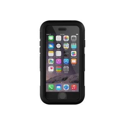 Griffin GB41549 Survivor Summit - Protective case for cell phone - rugged - silicone  polycarbonate  TPE - black - for Apple iPhone 6
