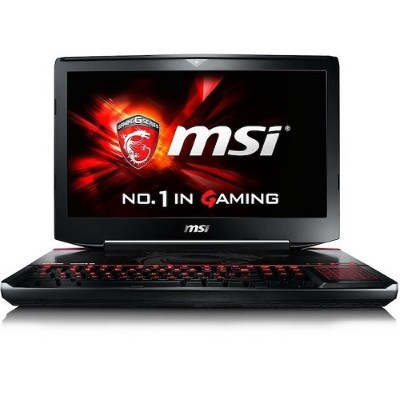MSI GT80S TITAN SLI-274 GT80S TITAN SLI-274 Intel Core i7-6820HK Quad-Core 2.70GHz Gaming Notebook - 16GB RAM 128GB SSD + 1TB HDD 18.4 Full HD DVD SuperMulti
