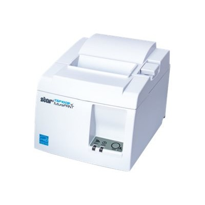 Star Micronics 39472010 TSP143IIILAN - Receipt printer - two-color (monochrome) - thermal paper - Roll (3.15 in) - 203 dpi - up to 590.6 inch/min - LAN - cutter