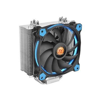 ThermalTake CL-P022-AL12BU-A Riing Silent 12 - Processor cooler - (LGA775 Socket  LGA1156 Socket  Socket AM2  Socket AM2+  LGA1366 Socket  Socket AM3  LGA1155 S