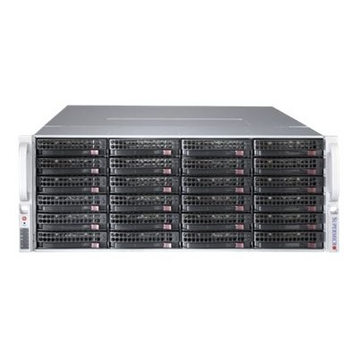 Super Micro CSE-847BE1C-R1K28LPB Supermicro SC847 E1C-R1K28LPB - Rack-mountable - 4U - enhanced extended ATX - SATA/SAS - hot-swap 1280 Watt - black
