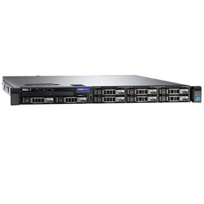 Dell 463 7655 PowerEdge R430 6 Core Intel Xeon E5 2603V4 1.7GHz Rack Server 8GB RAM 300GB HDD Gigabit Ethernet Dell PERC H330