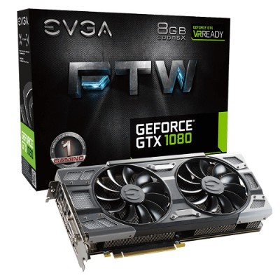 Evga 08G-P4-6286-KR EVGA GeForce GTX 1080 FTW GAMING ACX 3.0