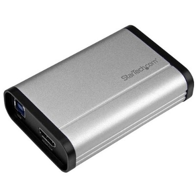 StarTech.com USB32HDCAPRO USB 3.0 Capture Device for High-Performance HDMI Video - 1080p 60fps - Aluminum
