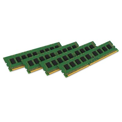 Kingston KVR24R17D4K4/128I 128GB 2400MHz DDR4 ECC Reg CL17 DIMM (Kit of 4) 2Rx4 Intel