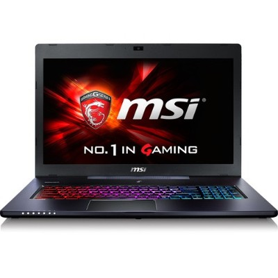 MSI GS70 STEALTH PRO-006 GS70 Stealth Pro-006 Intel Core i7-6700HQ 2.6GHz Gaming Notebook Computer - 16GB RAM 128GB SSD (PCIe Gen3x4) + 1TB HDD 17.3 FHD Giga
