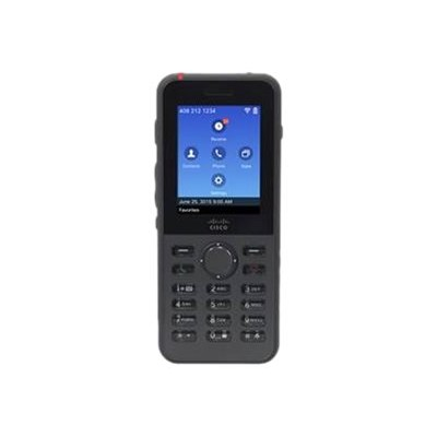 Cisco CP-8821-K9= IP Phone 8821 - Cordless extension handset - Bluetooth interface - IEEE 802.11a/b/g/n/ac (Wi-Fi) - SIP - 6 lines