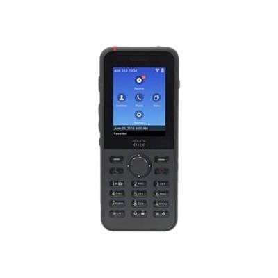 Cisco CP-8821-K9-BUN Unified Wireless IP Phone 8821 - Cordless extension handset - Bluetooth interface - IEEE 802.11a/b/g/n/ac (Wi-Fi) - SIP - 6 lines