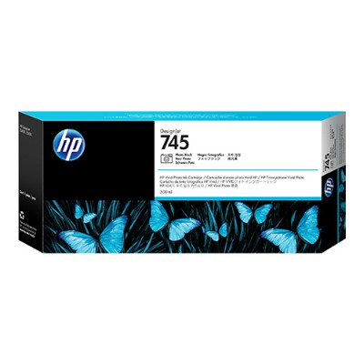 HP Inc. F9K04A 745 - 300 ml - High Capacity - photo black - original - DesignJet - ink cartridge - for DesignJet HD Pro MFP  Z2600 PostScript  Z5600 P