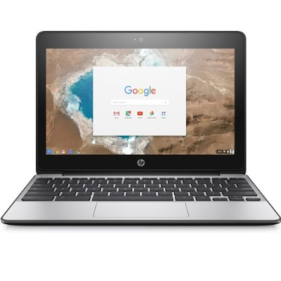 HP Inc. X9U01UT#ABA Chromebook 11 G5 - Celeron N3060 / 1.6 GHz - Chrome OS - 2 GB RAM - 16 GB eMMC - 11.6 TN 1366 x 768 (HD) - HD Graphics 400 - Wi-Fi  Bluetoot