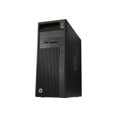 HP Inc. X2D62UT#ABA Workstation Z440 - MT - 4U - 1 x Xeon E5-1603V4 / 2.8 GHz - RAM 8 GB - HDD 1 TB - DVD SuperMulti - no graphics - GigE - Win 7 Pro 64-bit (in