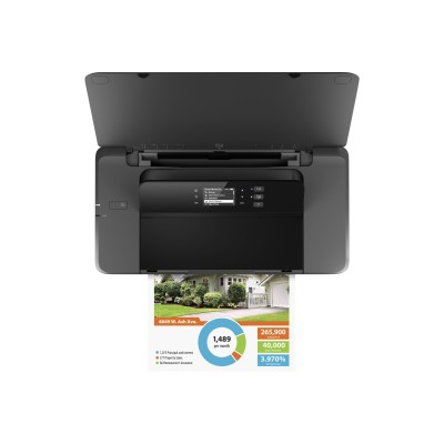 HP Inc. CZ993A#B1H Officejet 200 Mobile Printer - Printer - color - ink-jet - A4/Legal - 1200 x 1200 dpi - up to 20 ppm (mono) / up to 19 ppm (color) - capacity