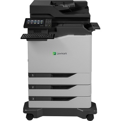 Lexmark 42KT077 CX820dtfe Color Laser Multifunction Printer with CAC Enablement  4-Year Onsite Repair & Air Force Code (TAA Compliant)