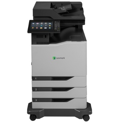 Lexmark 42KT079 Color Laser Multifunction Printer with CAC Enablement  4-Year Onsite Repair & Air Force Code (TAA Compliant)
