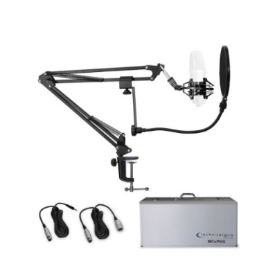 Technical Pro MCXPKG Mic Accessory Starter Package (Just add a Mic)