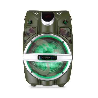 Technical Pro WASP550LABT 6.5 Battery-Powered BT PA System with Wireless Mic