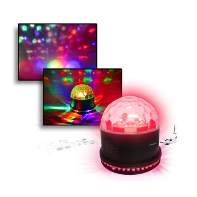 Technical Pro LG360S Magnetic Party Starburst Light with Built in Speaker