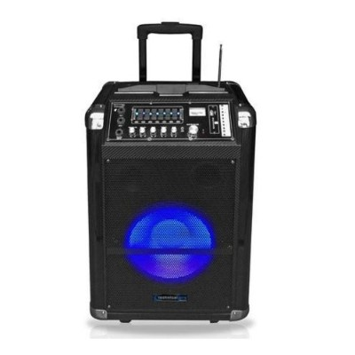 Technical Pro WASP1250LBT 12 Portable PA System with Battery and VHF Mic