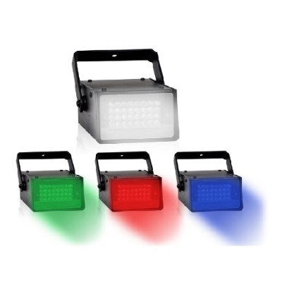 Technical Pro STRB24C Pro Mini LED Strobe DJ Effect Light with Color Panels