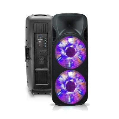 Technical Pro PSHAKE3500LED Double 15 Two-Way Bluetooth LED Loudspeaker