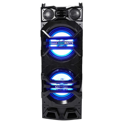 Technical Pro BSPA10B Black BT Powered Speaker System with Wireless Mic