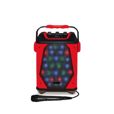 Technical Pro WASP460 Rechargeable BT LED Panel Speaker with Wired Mic