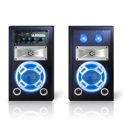 Technical Pro STAGE50 Bluetooth Stage Speaker System with Party lights