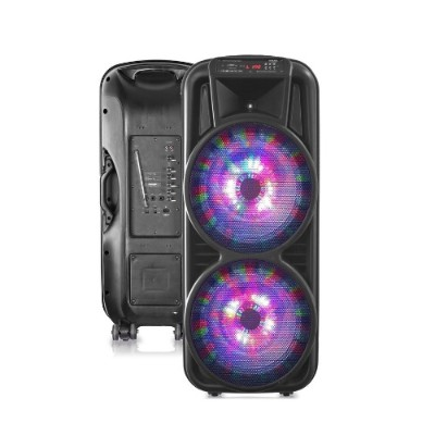 Technical Pro PSHAKE3000 Double 12 Two-Way Bluetooth LED Loudspeaker