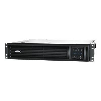 APC SMT750RM2UNC Smart-UPS 750VA LCD RM - UPS (rack-mountable) - AC 120 V - 500 Watt - 750 VA - Ethernet  RS-232  USB - output connectors: 6 - 2U - black - with