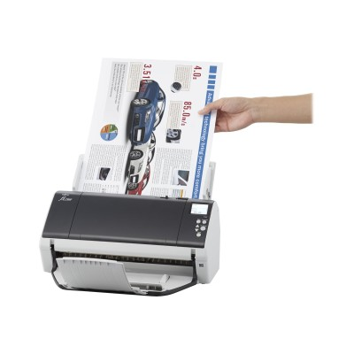 Fujitsu PA03710-B005 fi-7480 - Document scanner - Duplex - 12 in x 17 in - 600 dpi x 600 dpi - up to 80 ppm (mono) / up to 80 ppm (color) - ADF (100 sheets) - u