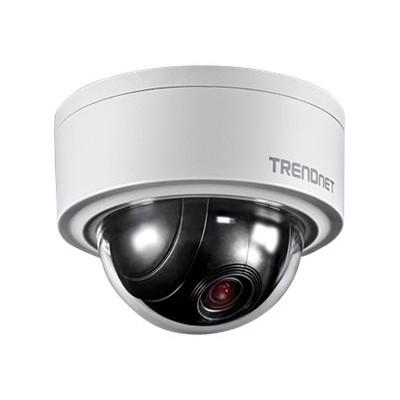 TRENDnet TV-IP420P TV IP420P - Network surveillance camera - PTZ - outdoor - vandal / weatherproof - color (Day&Night) - 3 MP - 2048 x 1536 - auto and manual ir