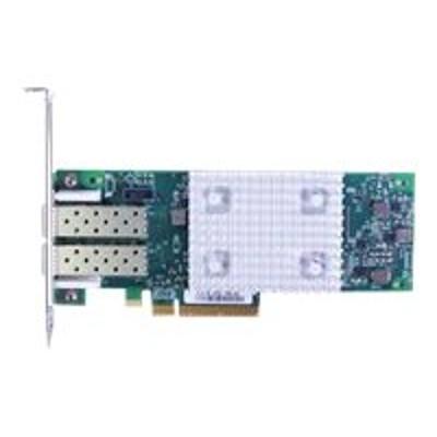 Lenovo 01CV760 QLogic 16Gb FC Dual-Port HBA (Enhanced Gen 5) - Host bus adapter - PCIe 3.0 x8 low profile - 16Gb Fibre Channel x 2 - for NeXtScale nx360 M5  Sys