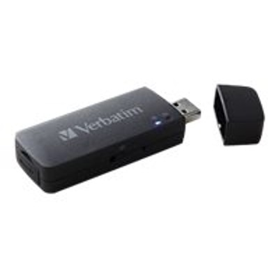 Verbatim 49160 MediaShare Mini - Network media streaming adapter - 802.11b  802.11g  802.11n