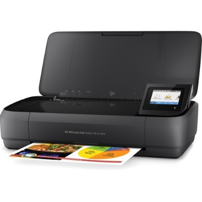 HP Inc. CZ992A#B1H Officejet 250 Mobile All-in-One - Multifunction printer - color - ink-jet - Legal (8.5 in x 14 in) (original) - A4/Legal (media) - up to 18 p