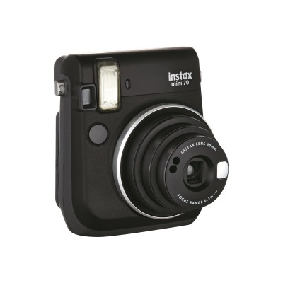 Fujifilm 16513906 Instax Mini 70 - Instant camera - lens: 60 mm - midnight black