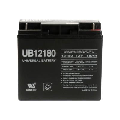 eReplacements UB12180-ER UPS battery - 1 x lead acid 18 Ah